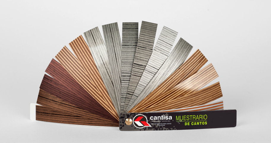 Canto PVC efecto contrachapado | Plywood effect PVC edgebanding