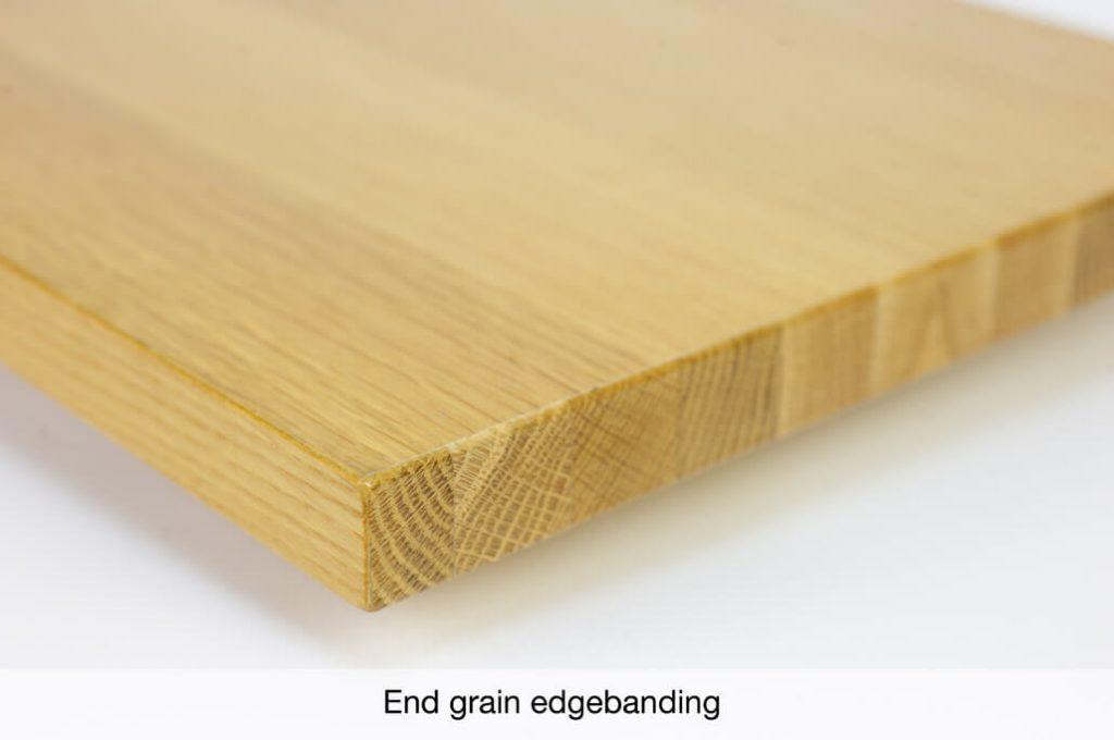 End grain veneer edgebanding « Cantisa