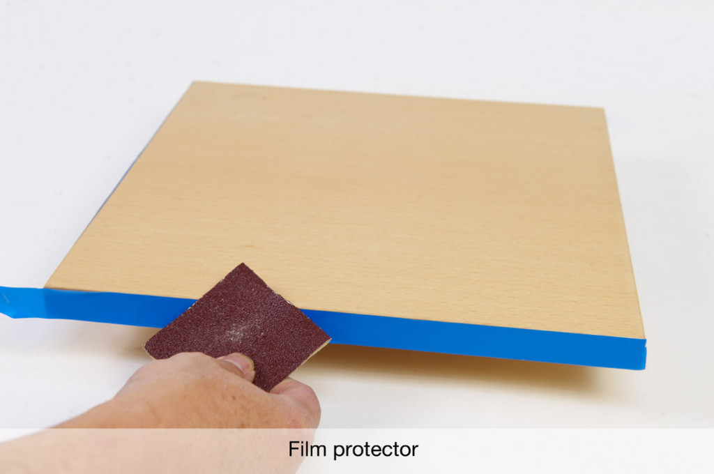 Canto con film protector