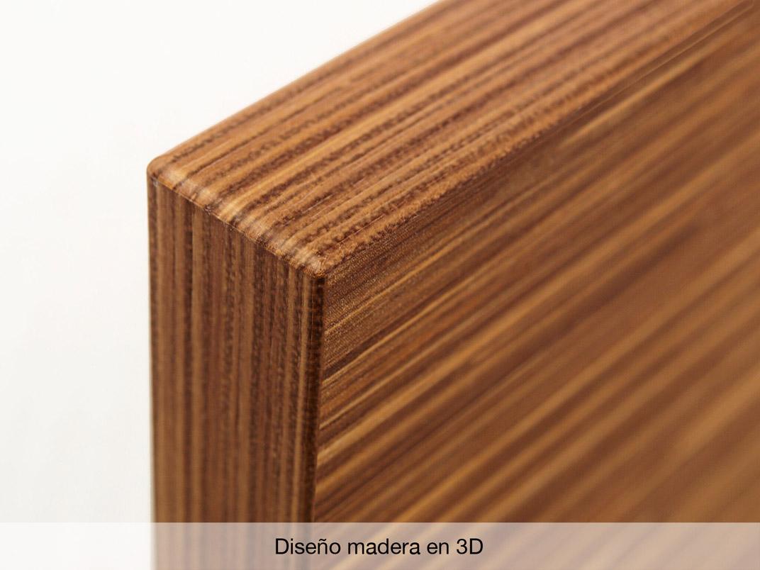 Cantos duo efecto cristal y 3d pmma cantisa - Canto para madera ...