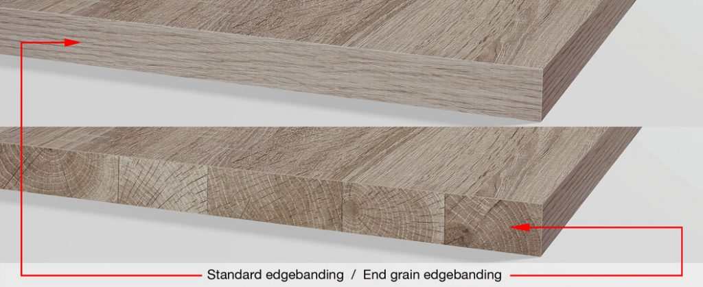 End Grain PVC edgebanding « Cantisa