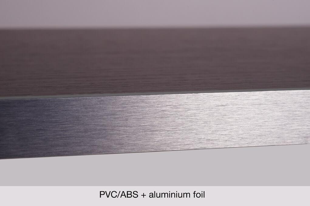 PVC/ABS edgebanding + aluminium « Cantisa