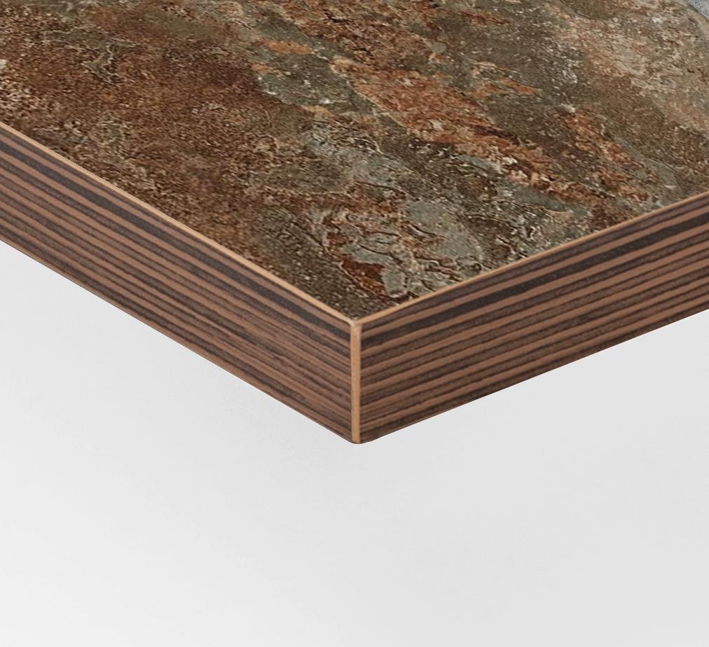 Canto contrachapado PVC/óxido - PVC plywood edgeband/oxide