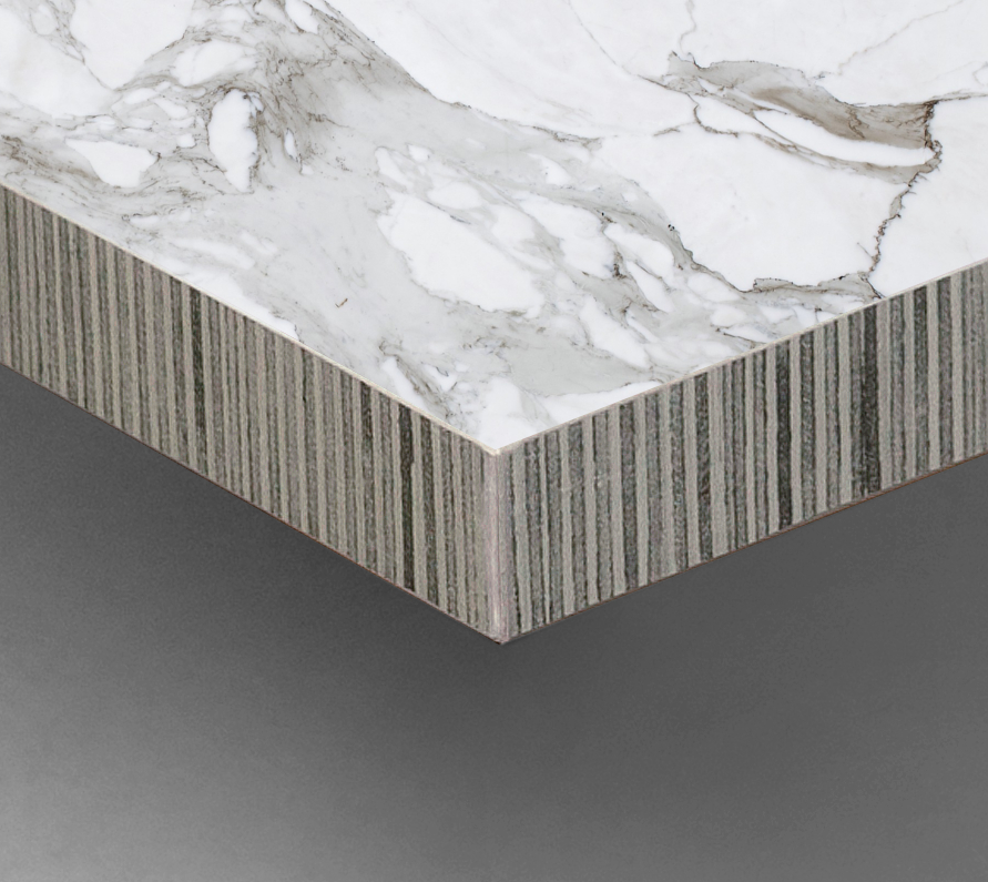 Canto contrachapado PVC/mármol - PVC plywood edgeband/marble