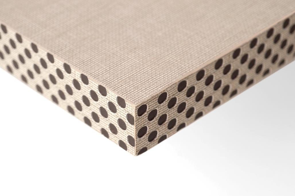 Canto efecto reja Textil
