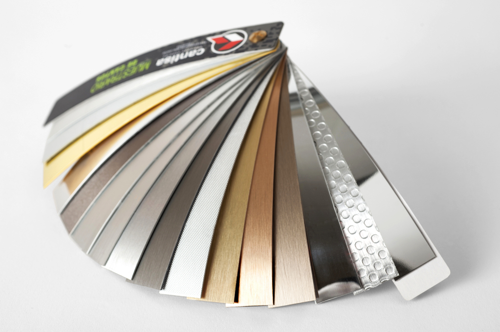 Cantos de PVC y ABS con aluminio