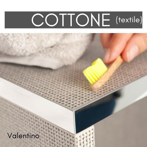Losan's Valentino with metallic edgeband
