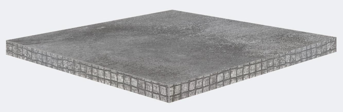 Canto mosaico PVC piedra mate